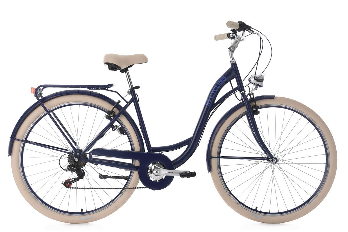 Damenfahrrad 28'' Balloon blau RH 48 cm KS Cycling