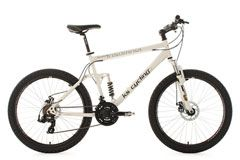 Mountainbike vollgefedert 26'' Insomnia weiß RH 50 cm KS Cycling