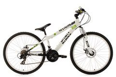 Mountainbike Dirt 26'' Dirrt weiß RH 34 cm KS Cycling