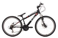 Mountainbike Dirt 26'' Dirrt schwarz RH 34 cm KS Cycling