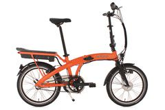 Alu Faltrad Pedelec ADORE Zero E-Bike 20'' orange 3-Gang Nexus 250 Watt Li-Ion 36V/10,4 Ah