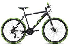 "Mountainbike Hardtail Crusher 26"" schwarz-grün KS Cycling"