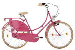 Hollandrad 28'' Tussaud pink 3 Gänge RH 54 cm KS Cycling
