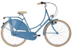 Hollandrad 28'' Tussaud 3-Gang hellblau RH 54 cm KS Cycling