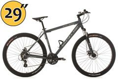 Mountainbike MTB Twentyniner Hardtail 29'' GTZ anthrazit RH 51 cm KS Cycling