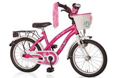 Kinderrad 16'' Dream Cat pink-weiß RH 28,5 cm Bachtenkirch