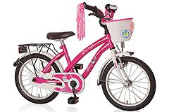 Kinderfahrrad 18'' Dream Cat pink-weiß RH 31 cm Bachtenkirch