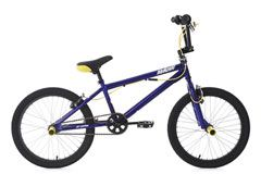 BMX Freestyle 20'' Hedonic blau-gelb KS Cycling