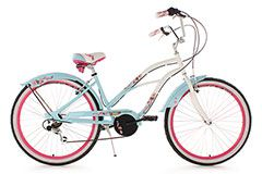 Beachcruiser 26'' Cherry Blossom hellblau RH 42 cm KS Cycling