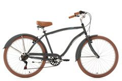 Beachcruiser 26'' Cruizer anthrazit RH 48 cm KS Cycling