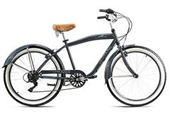 Beachcruiser 26'' Cruizer grau RH 46 cm KS Cycling