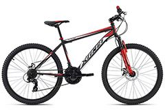 Mountainbike Hardtail 26'' Xtinct schwarz-rot KS Cycling