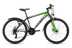 Mountainbike Hardtail ATB 26'' Xtinct schwarz-grün KS Cycling