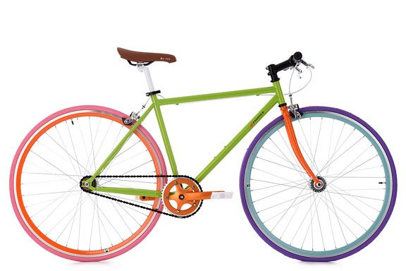"Fixie Fitnessbike 28"" Essence grün RH 47 cm KS Cycling"