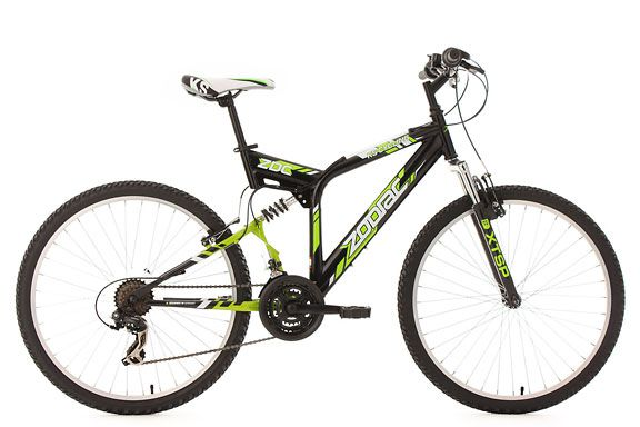 Mountainbike MTB Fully 26'' Zodiac schwarz RH 48 cm KS Cycling