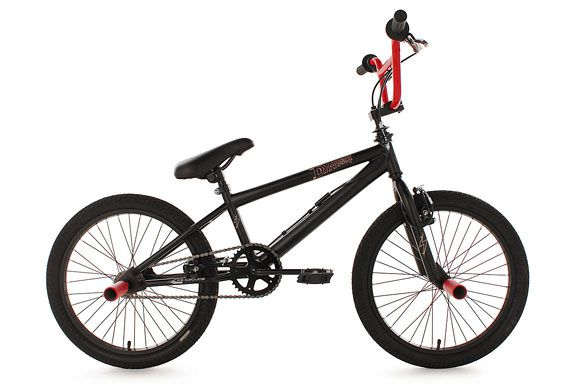 BMX Freestyle 20'' Dynamixxx rot KS Cycling