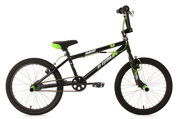 BMX Freestyle 20'' Hedonic schwarz KS Cycling